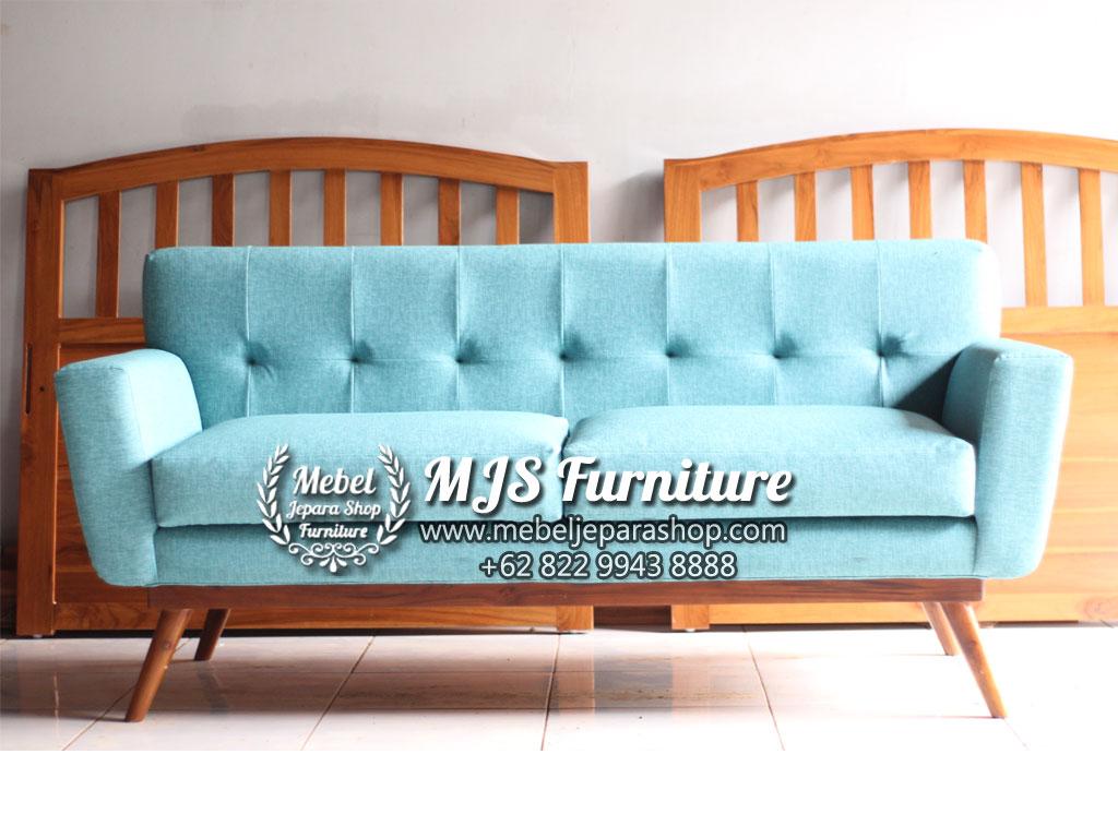 sofa minimalis retro Jepara