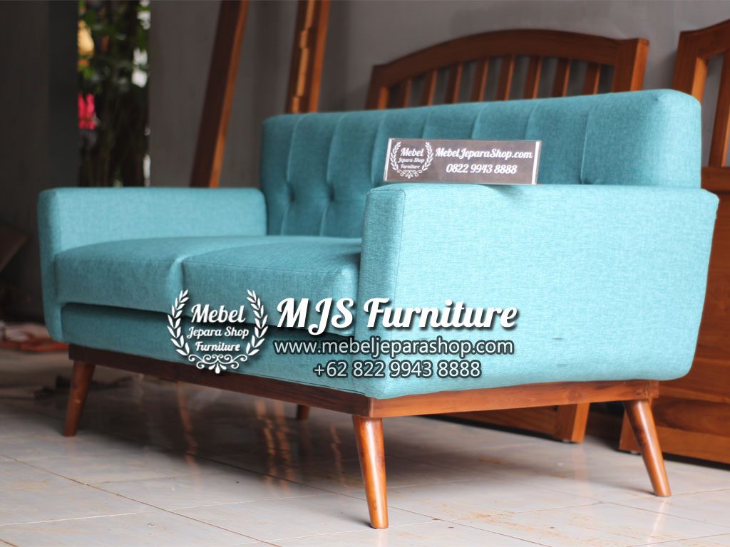 model sofa minimalis retro terbaru