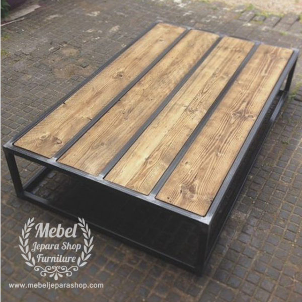 coffee table model industrial jepara