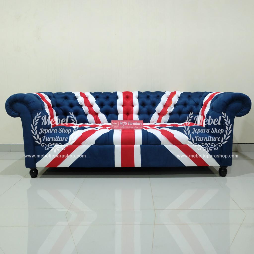 Sofa Union Jack Bendera Inggris