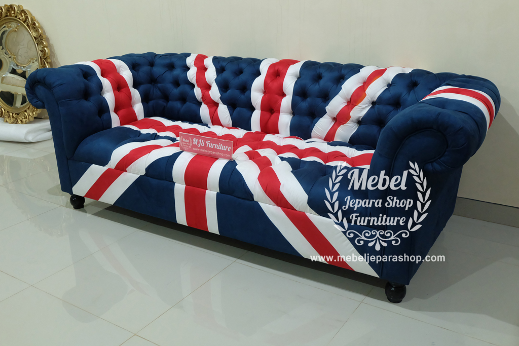 jual sofa union jack original