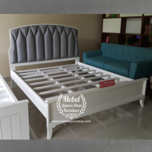 Tempat Tidur Sandaran Headboard Jok Modern