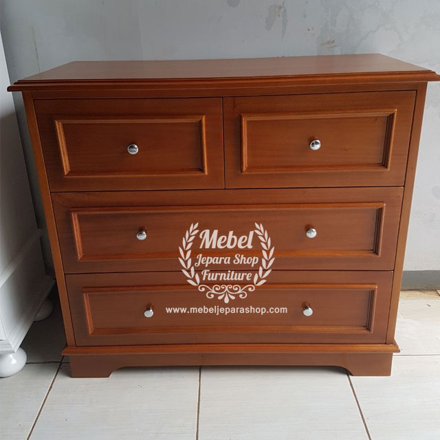 Nakas cabinet laci minimalis classic jepara