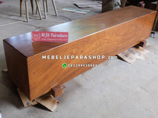 jual balok kayu log trembesi