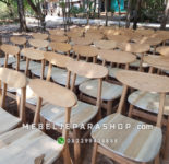Kursi Cafe Kayu Jati Minimalis Murah