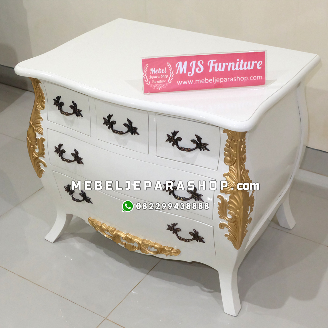 nakas laci cabinet classic jepara