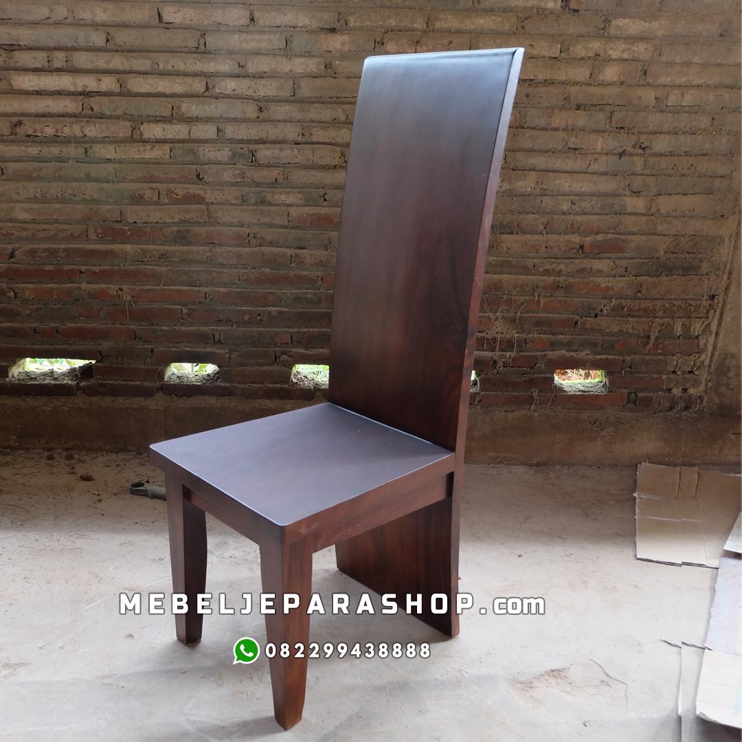 kursi Block kayu utuh trembesi