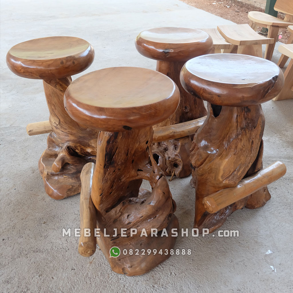 stool antik jepara furniture