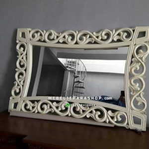 Cermin Pigura Frame Shabby Chic
