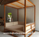 Cottage Resort Gazebo Minimalis Jati