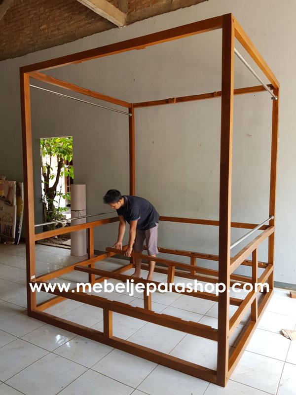 gazebo minimalis indoor teras