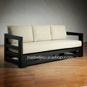 Sofa Minimalis Jati Jepara