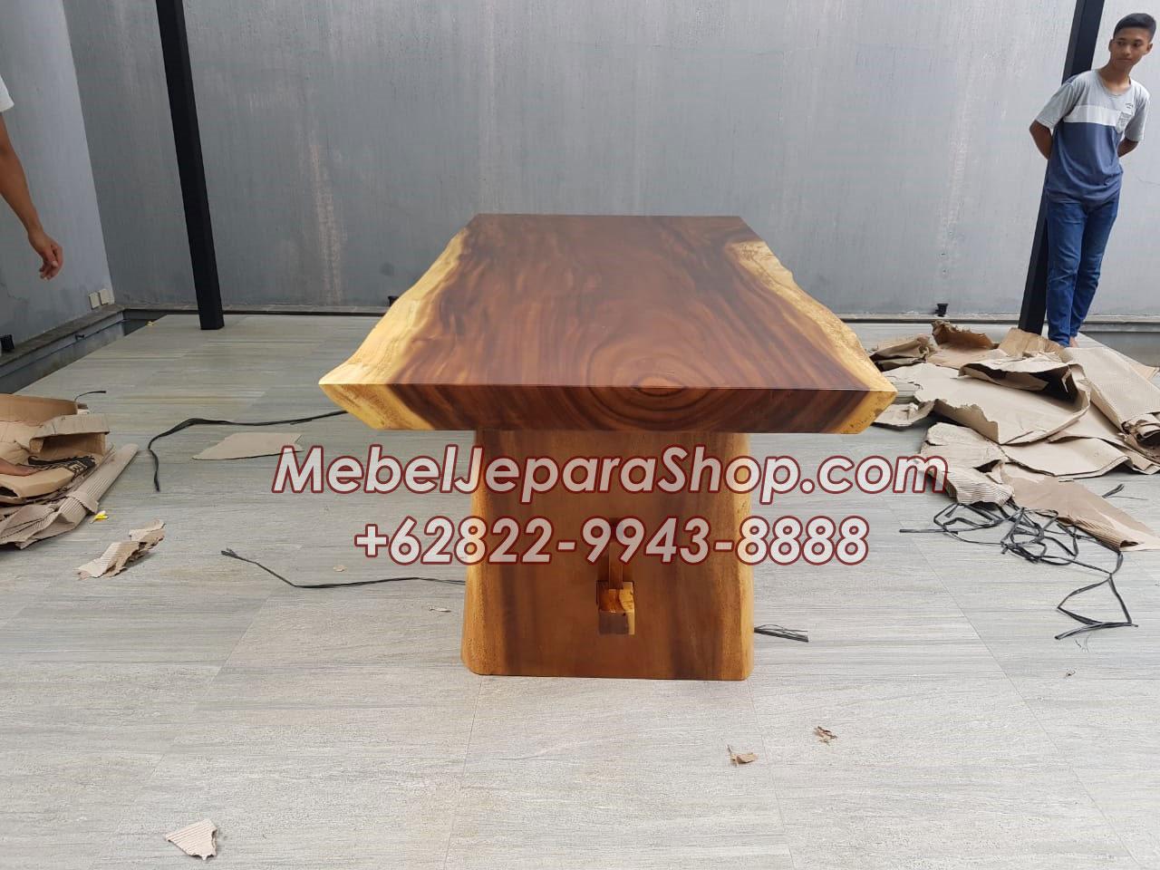 meja trembesi kecil - meja-trembesi-kecil