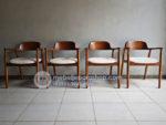 Kursi Cafe Jati Jepara Dengan Jok